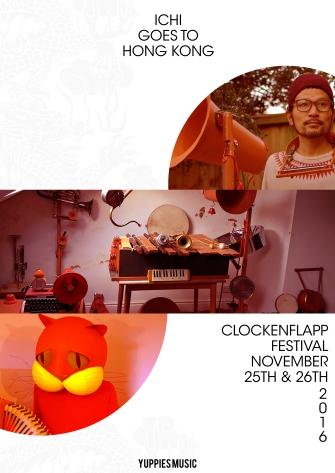 ichi-clockenflapp-poster